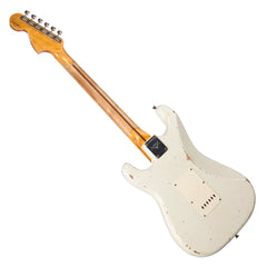 Fender Custom Shop MVP Series 1969 Stratocaster Relic - Olympic White / Maple Cap - Hendrix / Woodstock -style electric guitar - New!!