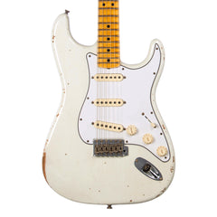 Fender Custom Shop MVP Series 1969 Stratocaster Relic - Olympic White / Maple Cap - Hendrix / Woodstock -style electric guitar - New!