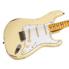 Fender Custom Shop MVP Series 1969 Stratocaster Relic - Vintage White / Maple Cap - Yngwie, Blackmore, Hendrix / Woodstock -style electric guitar - New!