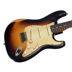 Fender Custom Shop MVP Series 1960 Stratocaster Heavy Relic - Masterbuilt John Cruz - Three Tone Sunburst