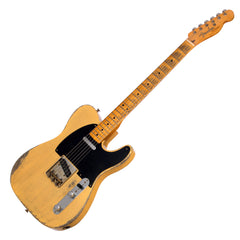 Fender Custom Shop MVP 1952 Telecaster Relic - Nocaster Blonde - Masterbuilt - Featherweight - Only 5.2lbs!!! Dealer Select Master Vintage Player Series