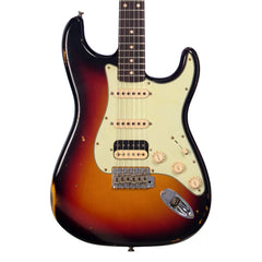 Fender Custom Shop MVP 1960 Stratocaster HSS Relic - 3 Color Sunburst - Dealer Select Master Vintage Player Series Electric Guitar - NEW!