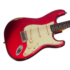 Fender Custom Shop MVP 1960 Stratocaster Relic - Candy Apple Red - Dealer Select Master Vintage Player Series Electric Guitar - NEW!