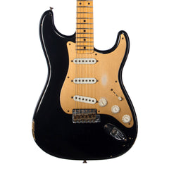 Fender Custom Shop MVP Series 1956 Stratocaster Relic - Black Pearl / Gold Anodized Pickguard - NEW!