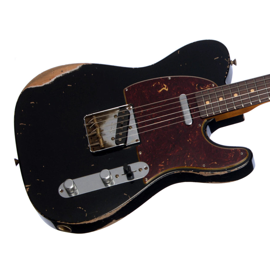 Fender Custom Shop MVP Series 1960 Telecaster Relic - Masterbuilt John Cruz - Black - NEW!