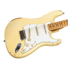 Fender Custom Shop MVP Series 1969 Stratocaster Relic - Vintage White / Maple Cap - Hendrix / Woodstock -style electric guitar - New!