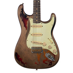USED Fender Custom Shop Rory Gallagher Signature Stratocaster - Sunburst Heavy Relic - Artist Series Electric Guitar