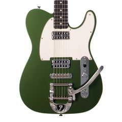Fender Custom Shop TV Jones Telecaster with Bigsby - Cadillac Green Metallic NOS - NEW!