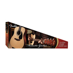 Fender DG-8S Dreadnought Acoustic Guitar Pack - Beginner, Student, starter kit - New!