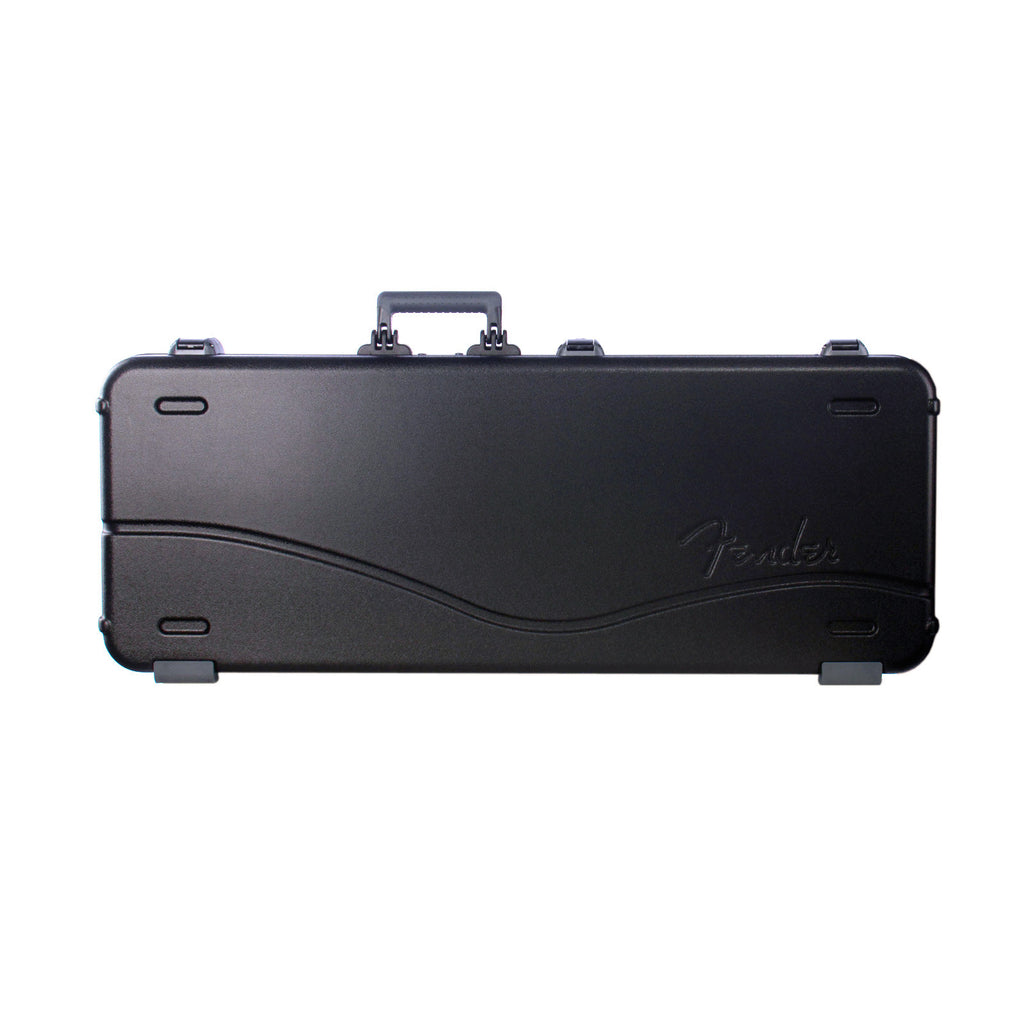 Fender Deluxe Molded Case – Stratocaster | Telecaster - Hardshell for Strat / Tele -style Electric Guitars - 0996102306