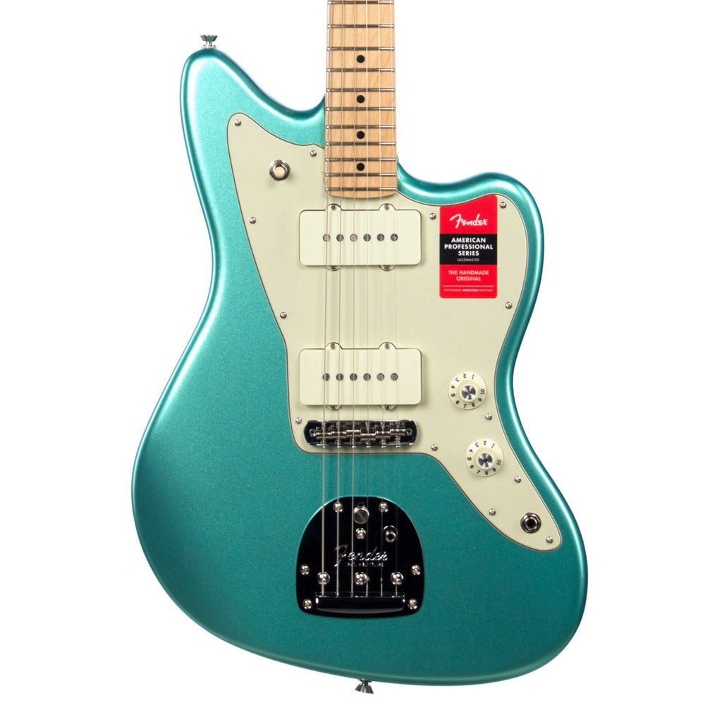 fender american professional jazzmaster maple neck mystic seafoam make 39 n music. Black Bedroom Furniture Sets. Home Design Ideas