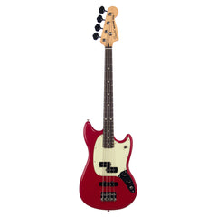 Fender Mustang Bass PJ - Torino Red - Short Scale Electric Bass Guitar - 0144050558