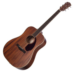 Fender Paramount PM-1 Standard Dreadnought All-Mahogany Acoustic Guitar with Case - NEW!