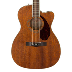 Fender Paramount PM-3 Triple-0 All-Solid Mahogany Acoustic Guitar with Case - NEW!