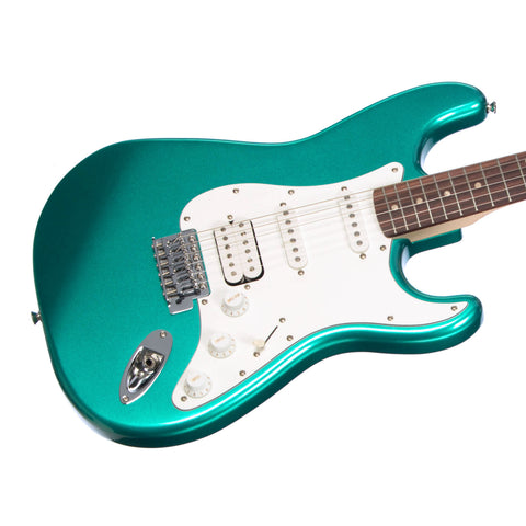Squier Affinity Series Stratocaster HSS - Race Green - Fender Electric Guitar for Beginners, Students 0370700592 - NEW!