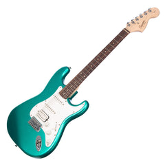 Squier Affinity Series Stratocaster HSS - Race Green - Fender Electric Guitar for Beginners, Students 0310700592 - NEW!