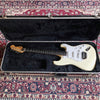 USED 1985 Fender Stratocaster MIJ E-Series - White - Rosewood Fingerboard - Made in Japan
