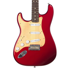USED Fender Guitars MOD SHOP US Stratocaster LEFTY - Candy Apple Red - Left Handed Electric Guitar