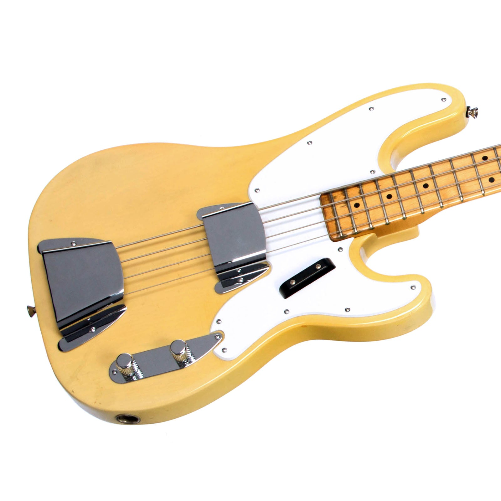 Fender Telecaster Bass Wiring Picturesque Blend Diagram Original Vintage Used Electric Guitar Blonde Nice 1600x1600