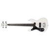 Eastwood Guitars Hi Flyer Bass White LH Angled