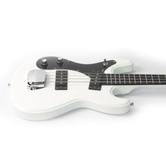 Eastwood Guitars Hi-Flyer Bass LEFTY - White - Left Handed Univox Hi-Flier Electric Bass Guitar Replica - NEW!
