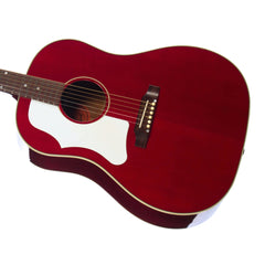 USED Gibson Custom J-45 Banner LEFTY - Left Handed Acoustic / Electric Guitar - Cherry
