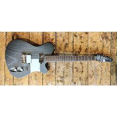 "Tao Guitars T-Bucket ""Autobahn"" - Custom Boutique Hand-Made Electric Guitar - Matte Gray - NEW!"