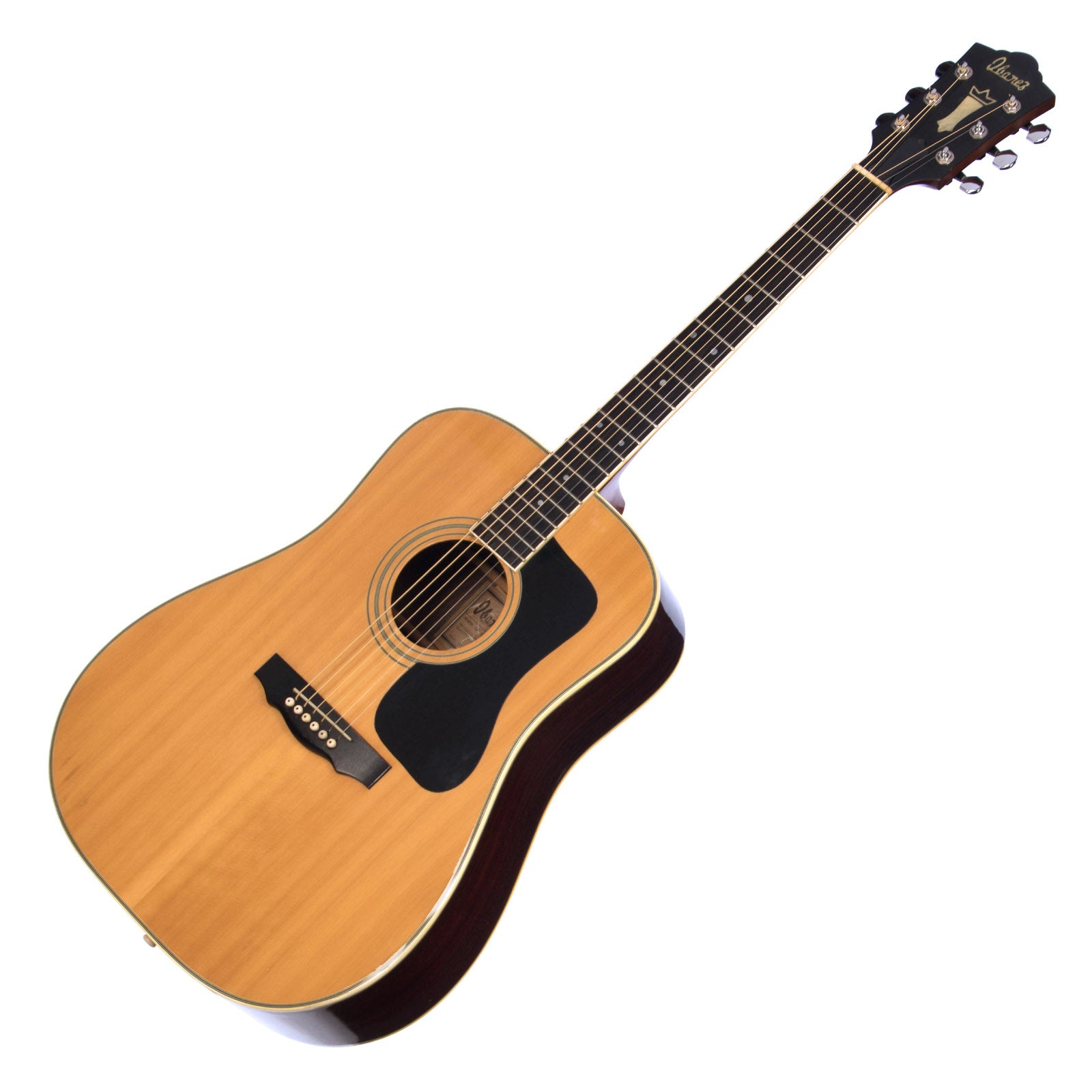 a61e383021f USED Ibanez Model 2846 - Lawsuit Era Guild Copy Made in Japan - Vintage  Dreadnought Acoustic