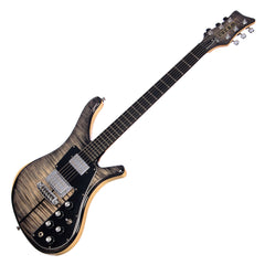 Lucem Paradox Deluxe - Transparent Black Gloss - Custom Hand-Made Electric - Boutique Guitar Showcase!