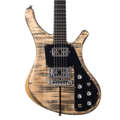 Lucem Guitars Paradox Deluxe - Transparent Black Satin - Custom Hand-Made Electric - Boutique Guitar Showcase!