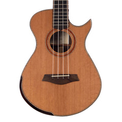 Maestro Guitars Island Series Tenor Ukulele - Western Red Cedar / Santos Rosewood - Special Build UT-SR CSB C - Custom Boutique Uke - NEW!