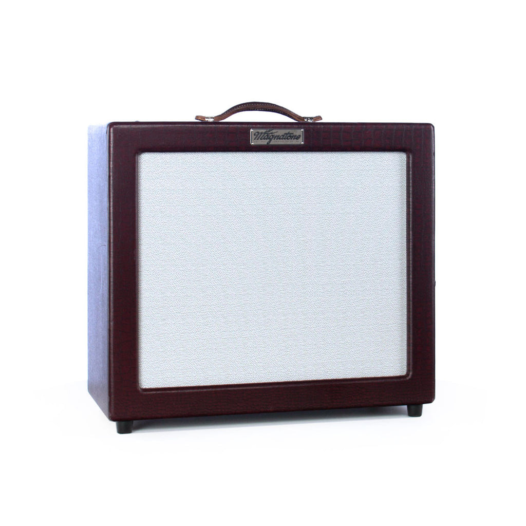 USED Magnatone Amps Varsity 1x12 combo - TV Front - 15 watt Tube Guitar Amplifier - Burgundy Crocodile