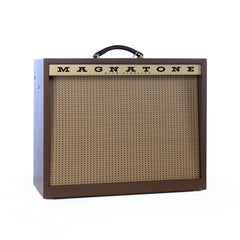 Magnatone Amps Varsity Reverb 1x12 combo - 15 watt Tube Guitar Amplifier - Traditional Brown Cabinet - NEW!
