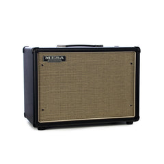 Mesa Boogie Amps 1x12 Widebody Closed Back Compact Guitar Amplifier Speaker Cabinet - Black w/ Custom Cream & Black Grille