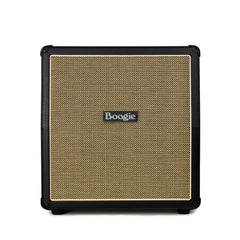 Mesa Boogie Amps 1x12 Mini Rectifier Slant Cabinet - Black w/ Cream and Black Grille