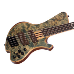 o3 Guitars Caesium Pangea 5-string Electric Bass Guitar - Hand Made by Alejandro Ramirez - Multi Scale - Custom / Boutique!