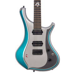 o3 Guitars Hydrogen AMG Mercedes F1 Limited Edition - Hand Made by Alejandro Ramirez - Custom Boutique Electric Guitar