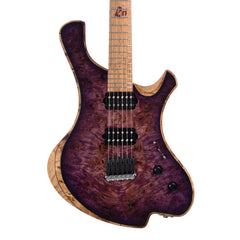 o3 Guitars Radon - Purple Nightmare - Hand Made by Alejandro Ramirez - Custom Boutique Electric Guitar