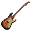 Paoletti Guitars Stratospheric Loft HSS - Distressed 3 Tone Sunburst, Ancient Reclaimed Chestnut Body, Custom Boutique Electric - NEW!