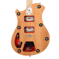 Relish Guitars Fiery Mary - Wood - Alder Body Core, Custom Boutique Electric Guitar - NEW!