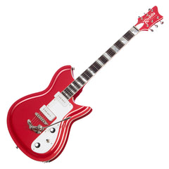 Rivolta Guitars Combinata XVII - Pomodoro Red Metallic - Offset electric guitar from Dennis Fano - NEW!