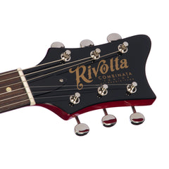 Rivolta Guitars COMBINATA JR - Rosso Red - Offset electric guitar from Dennis Fano - NEW!
