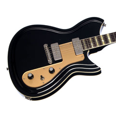 Rivolta Guitars Combinata VII - Toro Black and Gold - Offset electric guitar from Dennis Fano - NEW!