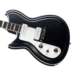 Rivolta Guitars COMBINATA Standard Lefty - Left Handed - Offset electric guitar from Dennis Fano - Toro Black Metallic