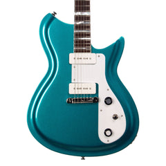 Rivolta Guitars COMBINATA Standard - Offset electric guitar from Dennis Fano - Adriatic Blue Metallic
