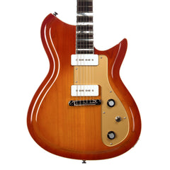 Rivolta Guitars COMBINATA Standard - Offset electric guitar from Dennis Fano - Autunno Burst