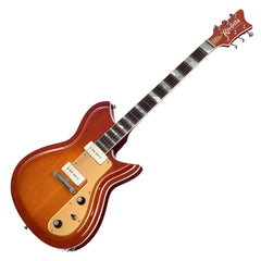 Rivolta Guitars Combinata VII - Autunno Burst - Offset electric guitar from Dennis Fano - NEW!