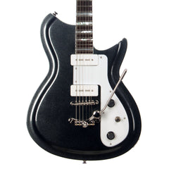 Rivolta Guitars COMBINATA DELUXE TREM - Offset electric guitar from Dennis Fano - Toro Black Metallic