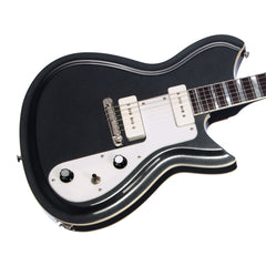 Rivolta Guitars COMBINATA Standard - Toro Black Metallic - Offset electric guitar from Dennis Fano - NEW!