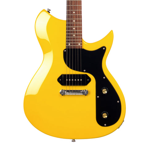 Rivolta Guitars Combinata - Roma Yellow - Offset electric guitar from Dennis Fano / NOVO - NEW!
